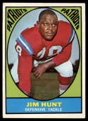 1967 Topps #10 Jim Hunt VG/EX Very Good/Excellent RC Rookie
