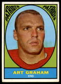 1967 Topps #12 Art Graham VG/EX Very Good/Excellent