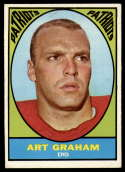 1967 Topps #12 Art Graham VG Very Good