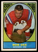 1967 Topps #14 Bob Dee VG Very Good