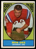 1967 Topps #14 Bob Dee EX Excellent