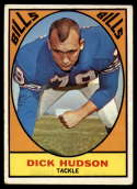 1967 Topps #22 Dick Hudson VG/EX Very Good/Excellent