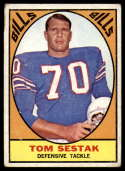 1967 Topps #27 Tom Sestak VG Very Good
