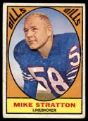 1967 Topps #29 Mike Stratton VG/EX Very Good/Excellent