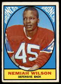 1967 Topps #30 Nemiah Wilson VG/EX Very Good/Excellent RC Rookie