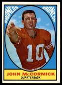 1967 Topps #31 John McCormick EX/NM