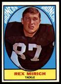 1967 Topps #32 Rex Mirich EX++ Excellent++ RC Rookie