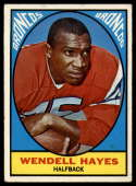 1967 Topps #36 Wendell Hayes EX Excellent