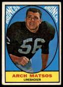 1967 Topps #37 Archie Matsos VG Very Good