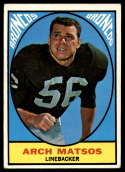 1967 Topps #37 Archie Matsos EX Excellent