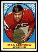 1967 Topps #40 Max Leetzow VG Very Good RC Rookie