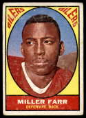 1967 Topps #44 Miller Farr VG Very Good RC Rookie
