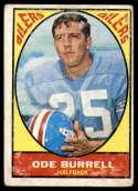 1967 Topps #48 Ode Burrell G Good