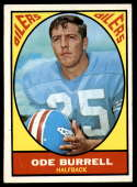 1967 Topps #48 Ode Burrell EX/NM