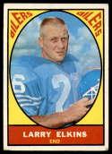 1967 Topps #49 Larry Elkins VG Very Good
