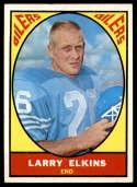 1967 Topps #49 Larry Elkins EX/NM