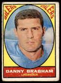 1967 Topps #57 Danny Brabham G Good