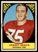 1967 Topps #67 Jerry Mays G Good