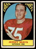 1967 Topps #67 Jerry Mays G/VG Good/Very Good