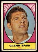 1967 Topps #104 Glenn Bass G Good