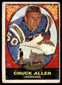 1967 Topps #129 Chuck Allen G Good