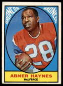 1967 Topps #35 Abner Haynes EX Excellent