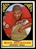 1967 Topps #71 Buck Buchanan EX Excellent