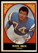 1967 Topps #125 Ron Mix VG Very Good