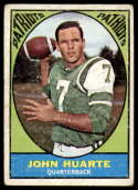 1967 Topps #1 John Huarte G/VG Good/Very Good