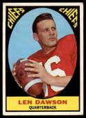 1967 Topps #61 Len Dawson VG/EX Very Good/Excellent