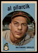 1959 Topps #7 Al Pilarcik EX Excellent