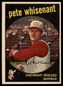 1959 Topps #14 Pete Whisenant UER EX/NM