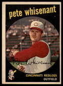1959 Topps #14 Pete Whisenant UER EX Excellent