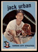 1959 Topps #18 Jack Urban EX++ Excellent++