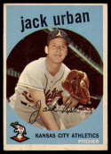 1959 Topps #18 Jack Urban EX Excellent