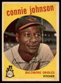 1959 Topps #21 Connie Johnson EX Excellent