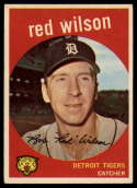1959 Topps #24 Red Wilson EX Excellent