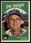1959 Topps #29 Jim Bolger EX++ Excellent++