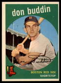 1959 Topps #32 Don Buddin EX Excellent
