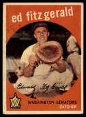1959 Topps #33 Ed Fitz Gerald EX Excellent