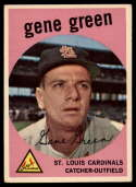 1959 Topps #37 Gene Green EX Excellent