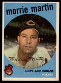 1959 Topps #38 Morrie Martin EX Excellent