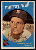 1959 Topps #42 Murray Wall VG Very Good