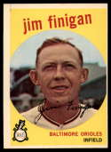 1959 Topps #47 Jim Finigan EX Excellent