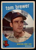 1959 Topps #55 Tom Brewer VG/EX Very Good/Excellent