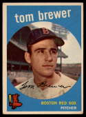 1959 Topps #55 Tom Brewer EX Excellent