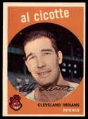 1959 Topps #57 Al Cicotte EX Excellent