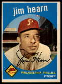 1959 Topps #63 Jim Hearn UER EX++ Excellent++