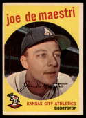 1959 Topps #64 Joe DeMaestri EX Excellent