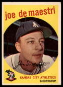 1959 Topps #64 Joe DeMaestri EX++ Excellent++